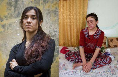 Nadia MURAD. Son histoire dans le cadre de la Journée Internationale contre l'utilisation de la violence sexuelle dans les conflits.