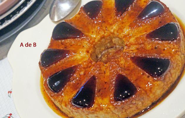 Le gâteau de Riz du dimanche soir, vanille et caramel