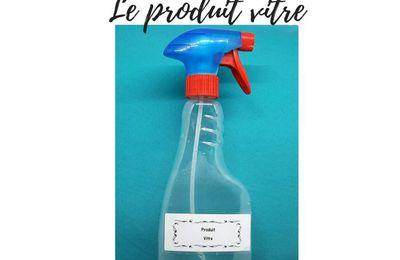 Produit lave-vitre