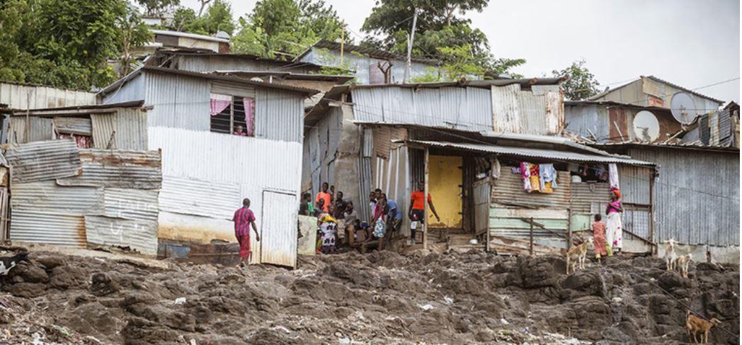 Bangas des bidonvilles