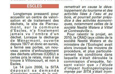 CRAD : Le collectif en observateur (Vosges Matin)