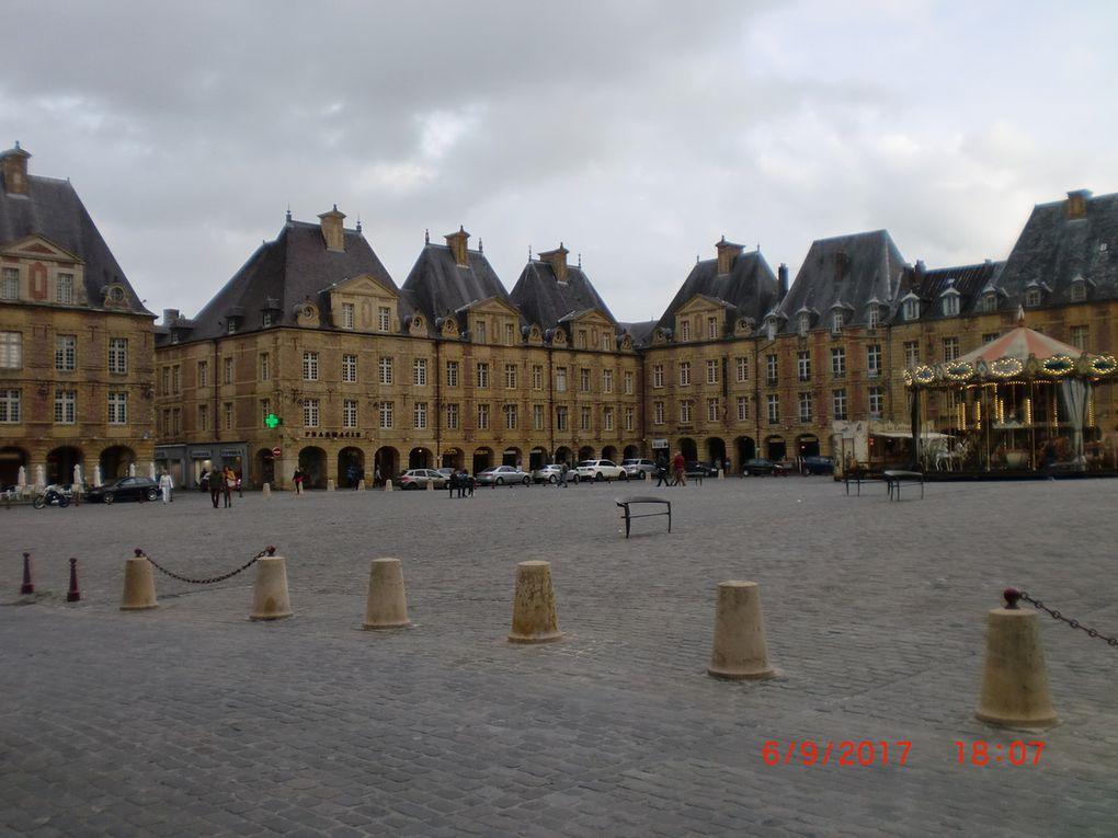 Le moulin et la place Ducale
