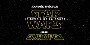 Journée Star Wars sur Europe1 lundi 19 octobre!