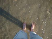 Moi qui aime les mers, océans démontés, je n'aurai eu que de la marée basse et de légères vaguelettes de 5 cm à tout casser !