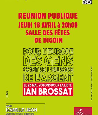 REUNION DIGOIN 18 AVRIL 20 H :