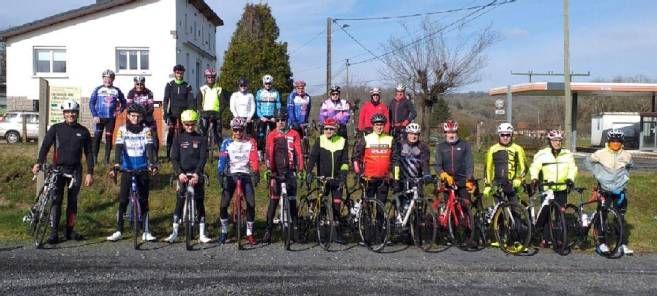 Le club de Lanobre s'est étoffé de jeunes recrues et a pu organiser sa première sortie, samedi. © Droits réservés
