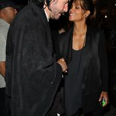 Halle Berry, 51, catches up with co-star Keanu Reeves on set in NYC