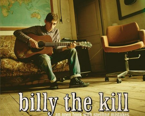 Billy the kill - An open book with spelling mistakes