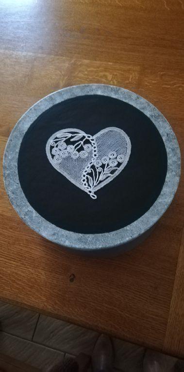 Un coeur en prévision de la St Valentin