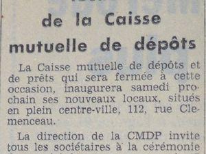 N° 112 rue Clemenceau à Algrange - Habitation - Commerce - Dentiste - Banque