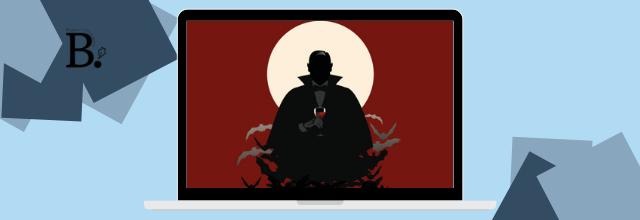 L'anniversaire de Dracula de J.M.R. Gustave