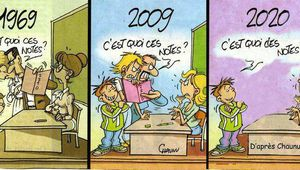 Humour : Enseignement / BANDE DESSINEE