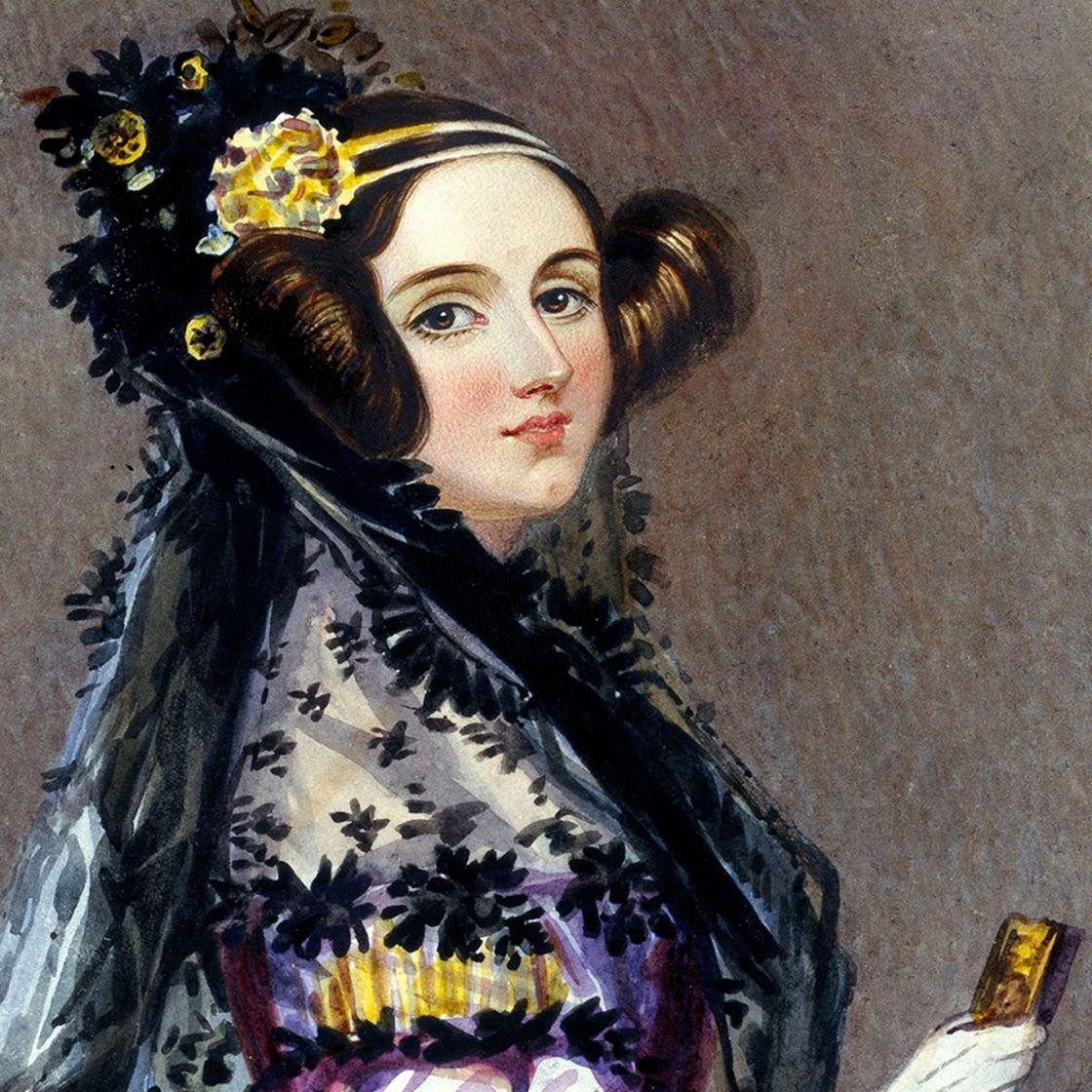Ada Byron-Lovelace (1815-1862) par Alfred Edward Chalon (1840), indivualité innovatrice
