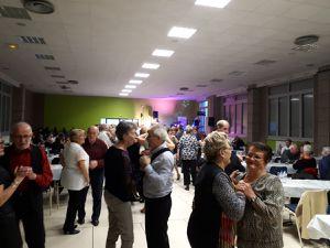 Dimanche 25 novembre 2018 à la bourse du travail de Firminy pour le thé dansant organisé par les accordéonistes de l'Ondaine et animé par l'orchestre de Jo Berger. (5 photos).