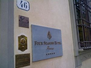 Hôtel Four Seasons Firenze - Florence - Italie