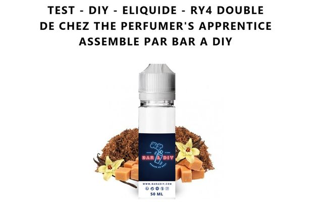 Test - Eliquide - RY4 Double de chez The Perfumer's Apprentice