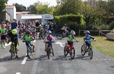 NIEUL LES SAINTES  Cyclo-Cross  écoles  de  vélo