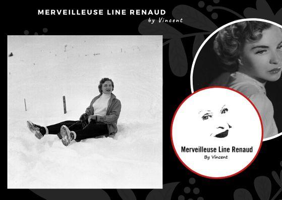 PHOTOS: La luge? Une grande passion visiblement pour Line Renaud 2/3