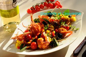 Paella express mais pleine de Soleil