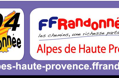 ffrandonnee alpes de haute provence - associations