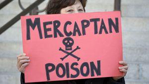 Les mercaptans sont des additifs qui permettent de détecter une fuite de méthane, gaz inodore, comme celle en cours en Californie du Sud. Problème: ils peuvent entraîner nausée, vertiges, maux de tête et de ventre, saignements de nez... REUTERS/Gus Ruelas