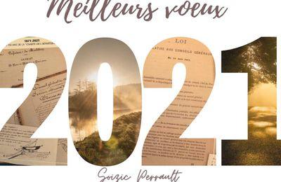 Mes meilleurs voeux pour 2021