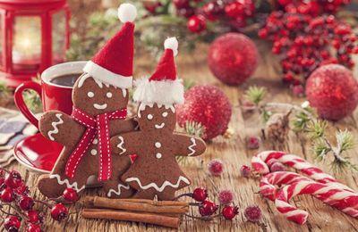 Recettes de Noël : les fameux bonhommes en pain d'épices ..
