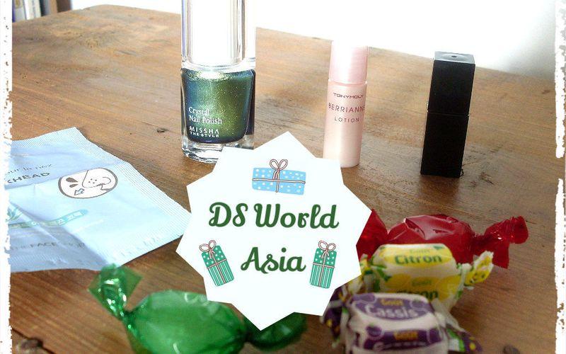 Fin du Calendrier de Cosmétiques Coréens DS World Asia