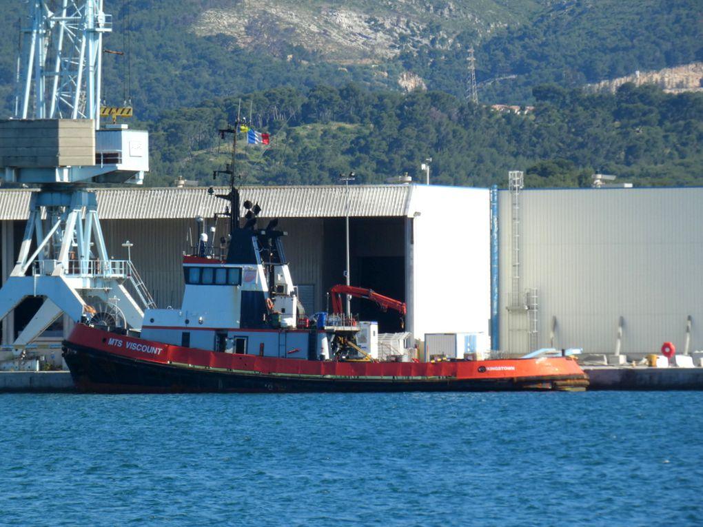MTS Viscount , a quai à Toulon / Brégaillon le 12 Mai 2020
