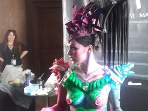 Body Painting et make up haute couture