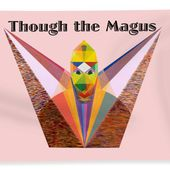 Though The Magus Text Beach Towel for Sale by Michael Bellon