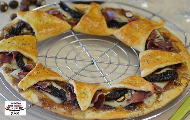 Pizza couronne aux saveurs automnales challenge#3 Kweezine