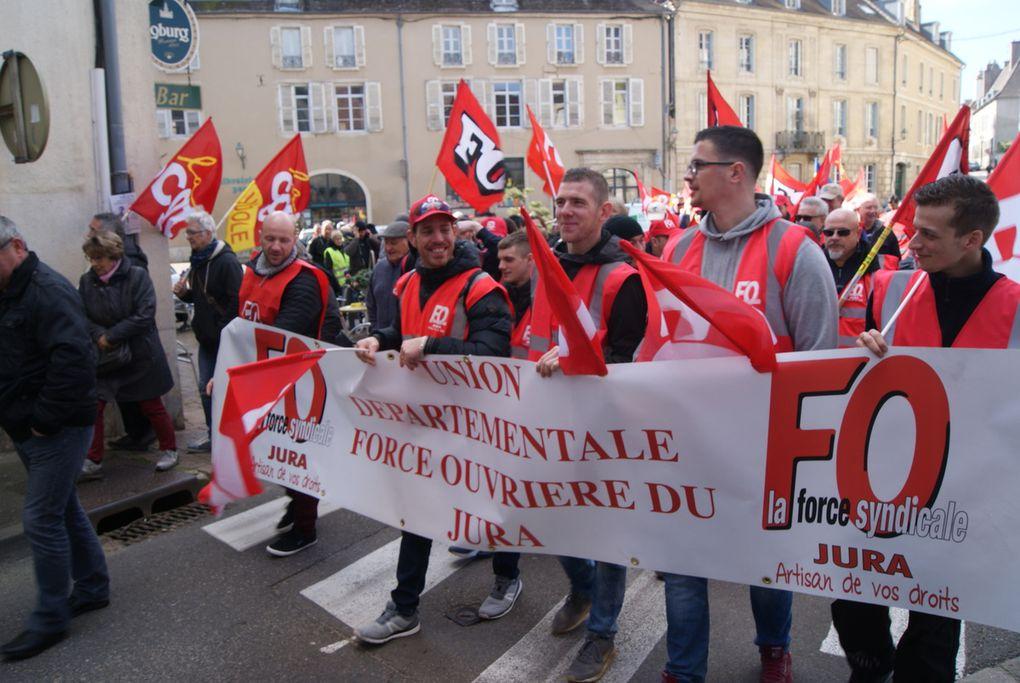 Le 19 mars , à Dole une manifestation revendicative