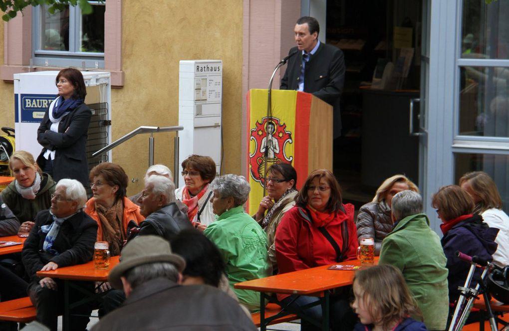 Veitshöchheimer Maifeier: Riesen-Andrang und Volksfeststimmung