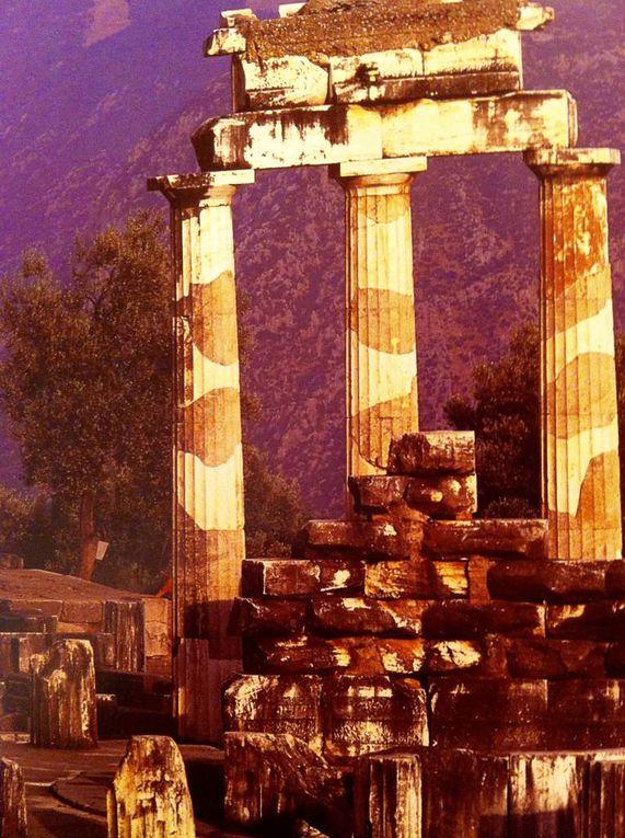 Un penseur Grec à Mykonos.