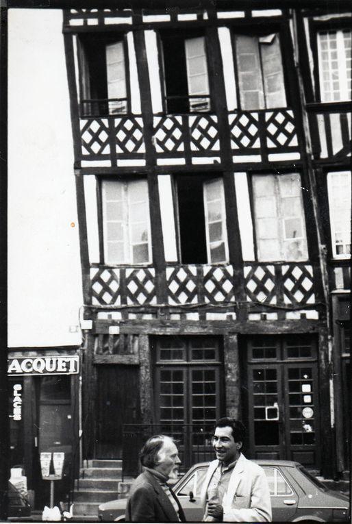 Sur les traces du sémioticien Algirdas Julien GREIMAS… album en cours de constitution. (Photos : Emmanuel CRIVAT, et les sites de Lituanie...)