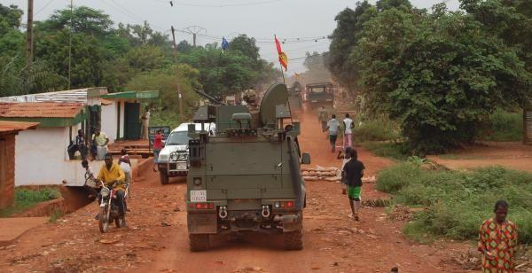 Imágenes de la reciente guerra civil en la Rep. de Centroáfrica.- El Muni.