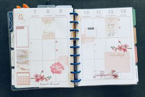 Plan with Me: Classic happy planner_ Semaine 23 et 24