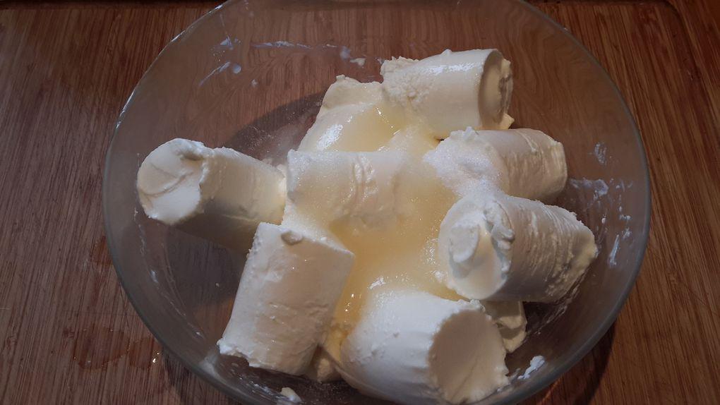 Cheesecake au citron et abricot 🍋🍑