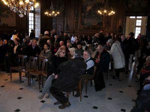 La santonnière de Nîmes Lou Christou et Gérard Cumin Lei Santoun di Corto vainqueurs du concours de création