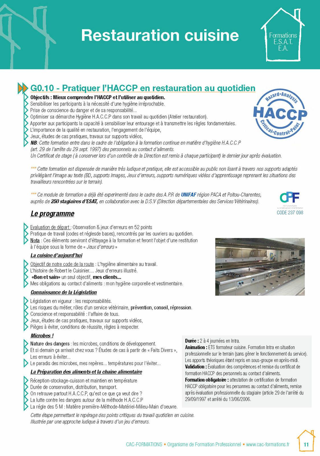 Formations CPF pour les formations usagers d'ESAT