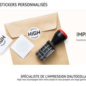 Découvrez High Stickers, site Ecommerce d'impression de stickers - ⇒ Blog Ecommerce - Stéphane ALLIGNE - Blog E-commerce ✅