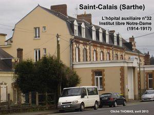 Photos : Musée du service de santé des armées (1914) - cliché Thomas, de Saint-Calais (2014)