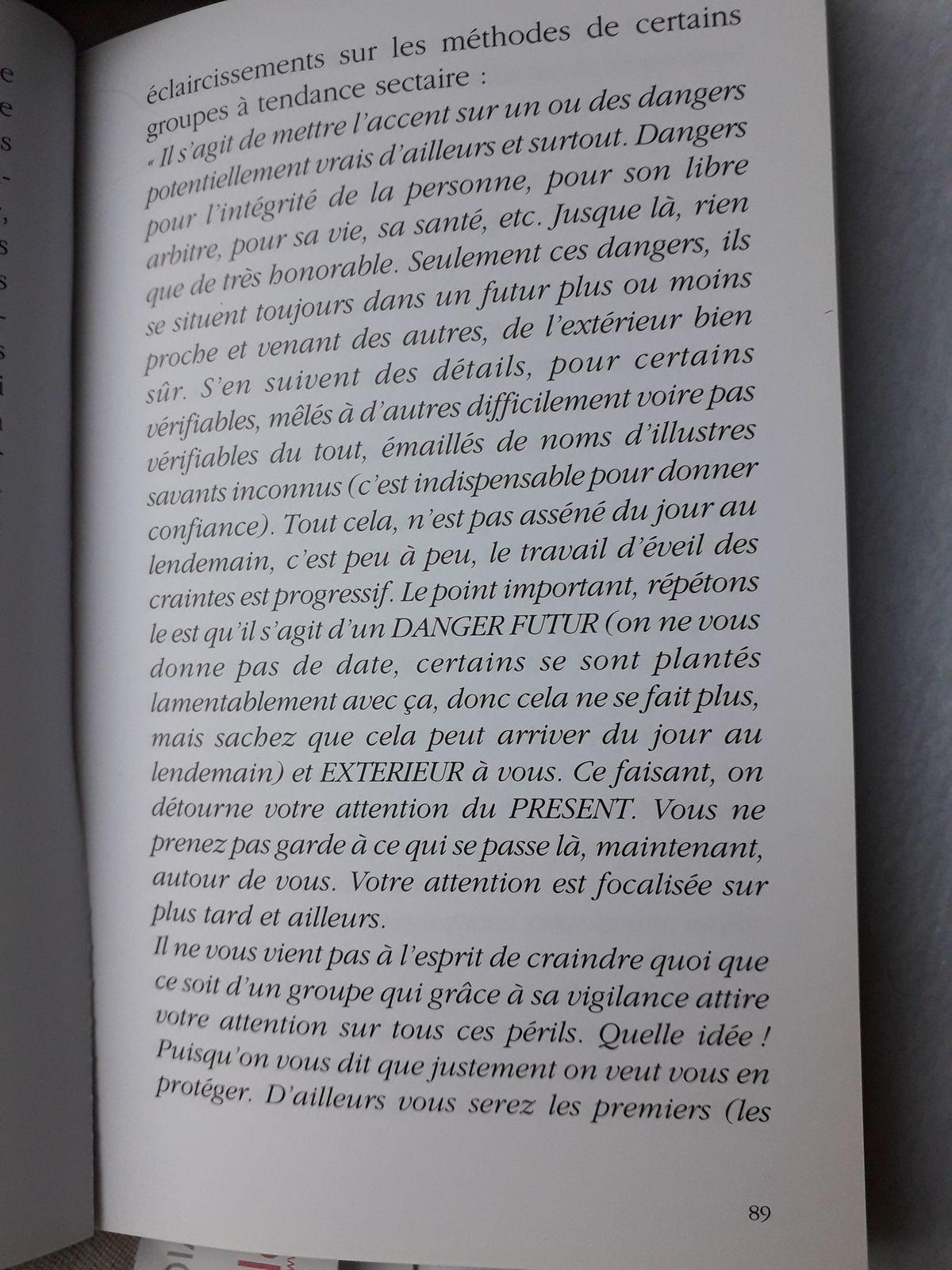 Suite Pluie de Poussières d'Etoiles, page 88 à 93