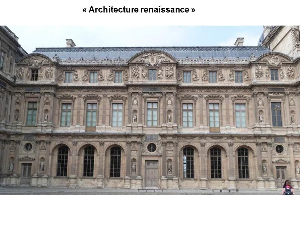 séance architecture: chateaux du XVI et XVII siècles