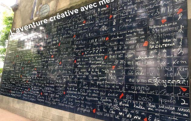 Le mur des Je t'aime Montmartre
