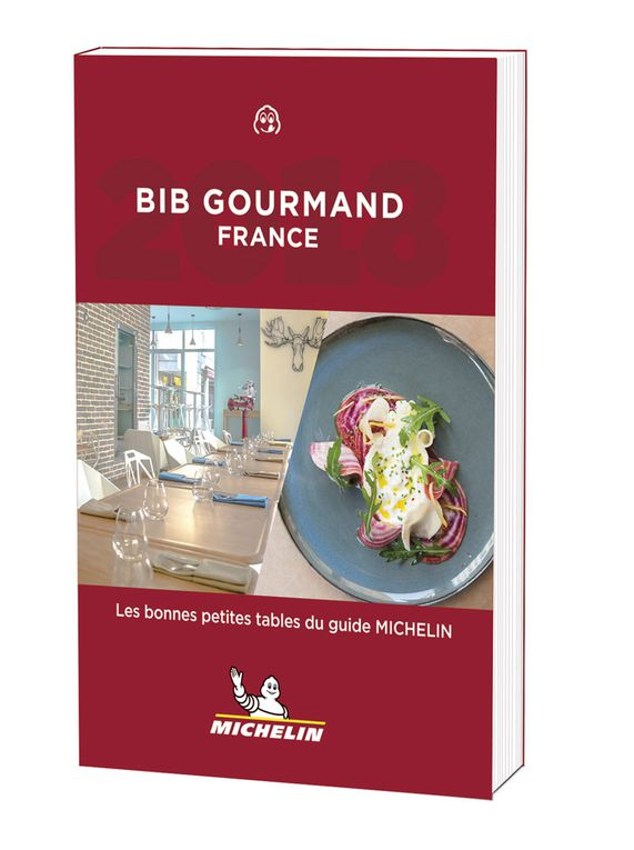 Guide Michelin Bib Gourmand 2018 :  une édition en demi-teinte !