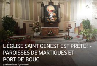 L'ÉGLISE SAINT GENEST EST PRÊTE !