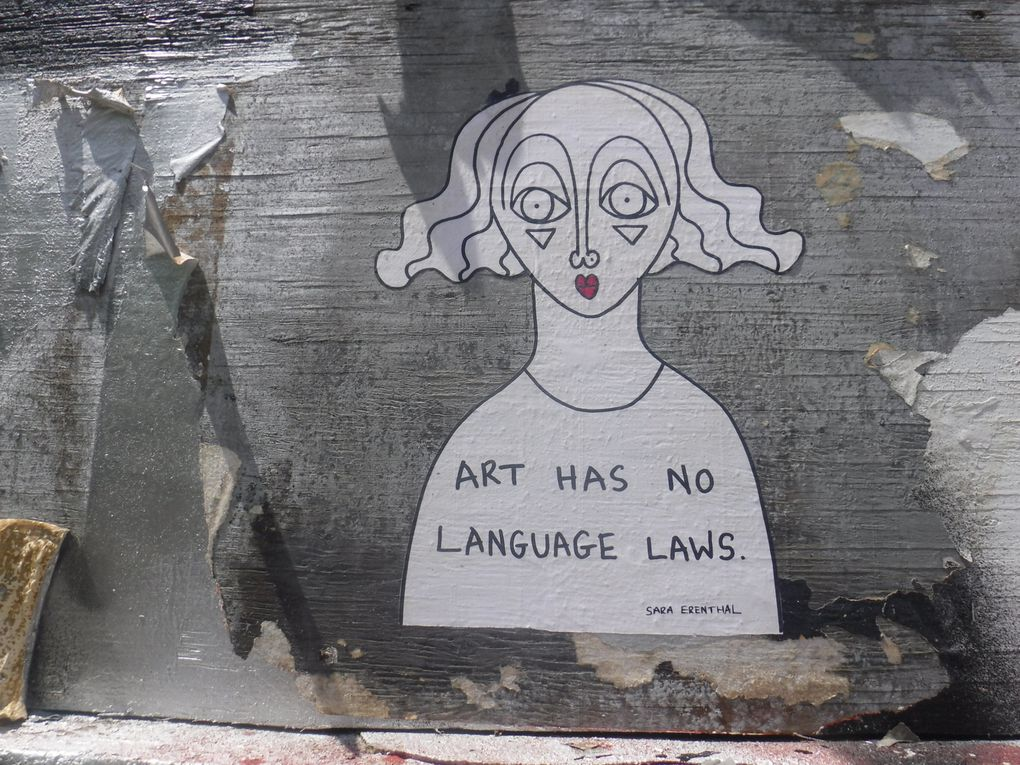 """""""L'art n'a pas de lois du langage."""""""