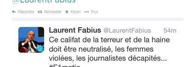 Fabius vs ponctuation